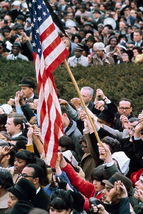 THE CIVIL RIGHTS - THE FLAG - 3/5