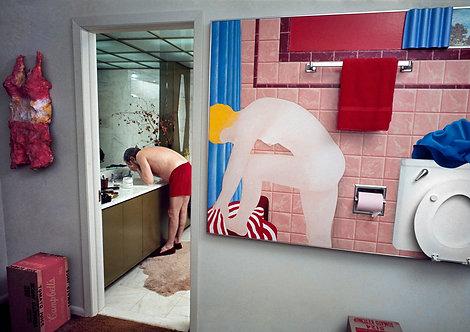 "LIVING WITH POP ART Henri Dauman -  ""Great American Nude"""