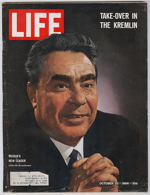 LIFE MAGAZINE - Nikita Khrouchtchev - 1964