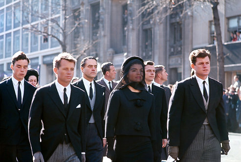ICONIC JFK FUNERALS - NOVEMBER 25, 1963