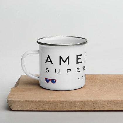AMERICAN SUPERMARKET - Enamel Mug