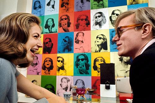 "LIVING WITH POP ART Henri Dauman - ""ETHEL SCULL 36 TIMES"""