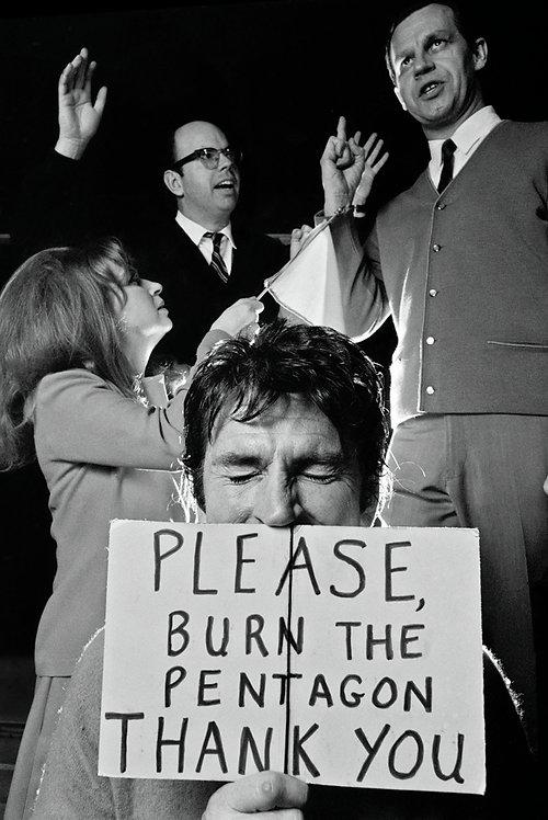 PLEASE, BURN THE PENTAGON