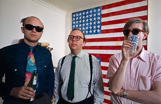 LIVING WITH POP ART - James Rosenquist, Henry Geldzahler & Andy Warhol