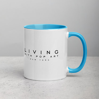LIVING WITH POP ART - Mug with Color Inside