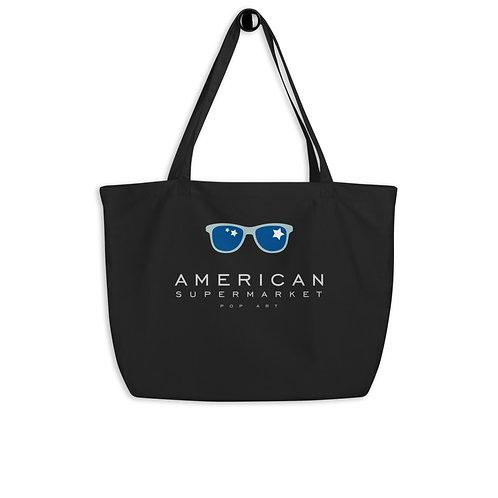 AMERICAN SUPERMARKET - organic tote bag