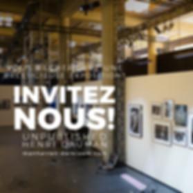 Invitez l'exposition