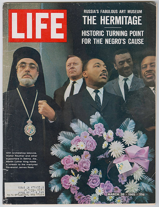 LIFE MAGAZINE - Martin Luther King - Civic rights 1965