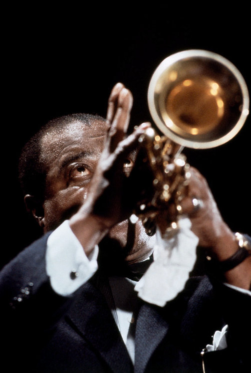 JAZZ - ARMSTRONG BEHIND THE TRUMPET