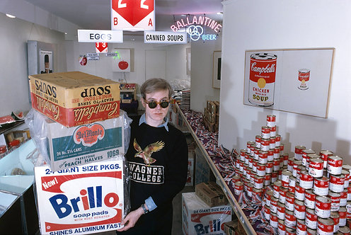 THE AMERICAN SUPERMARKET - ANDY WARHOL & BOX