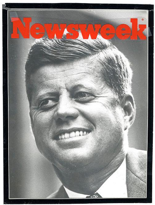 NEWSWEEK COVER - JFK - Henri Dauman