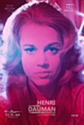 Poster of the exhibition Manhattan Darkroom, Henri Dauman Photographs