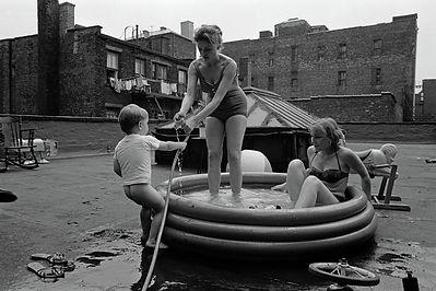 Roof Top Living - Henri Dauman - The Manhattan Darkroom