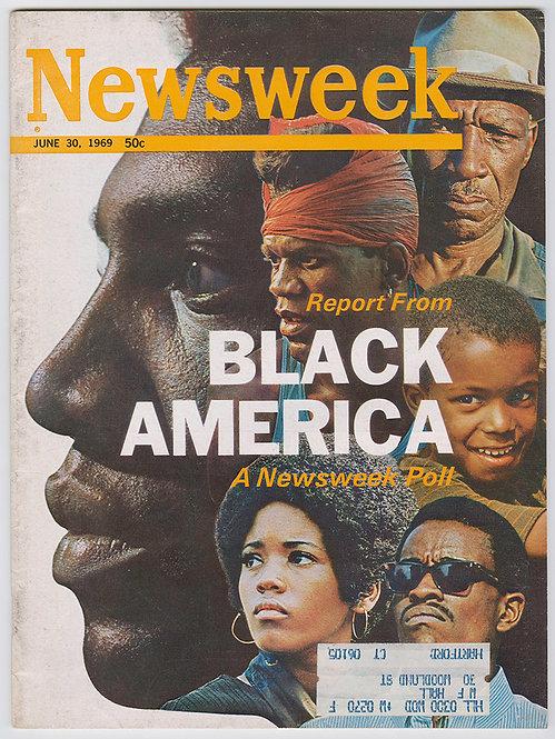 NEWSWEEK MAGAZINE - BLACK IN AMERICA - 1969
