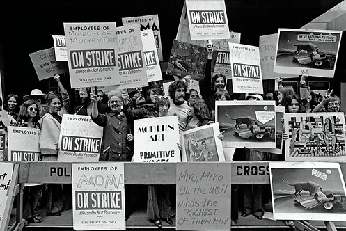 PROTESTERS - MoMA ON STRIKE - 4/4