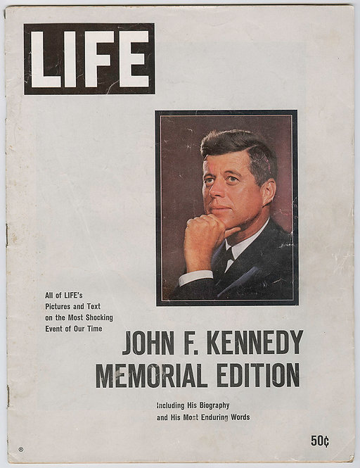 LIFE MAGAZINE - KENNEDY MEMORIAL EDITION - 1964