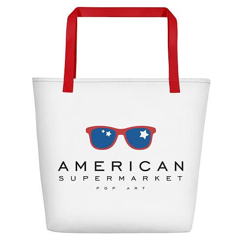 AMERICAN SUPERMARKET - Beach Bag