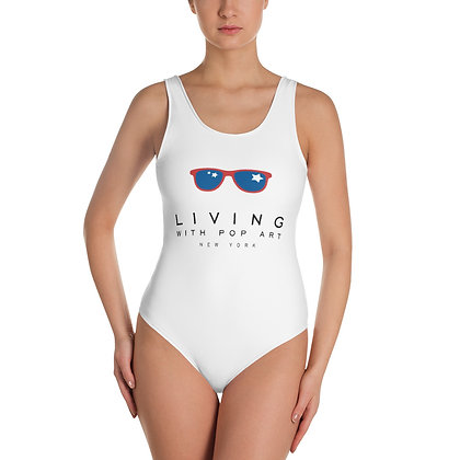 LIVING WITH POP ART - One-Piece Swimsuit
