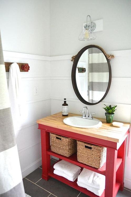 """Mueble Baño """"2 Estantes"""""""