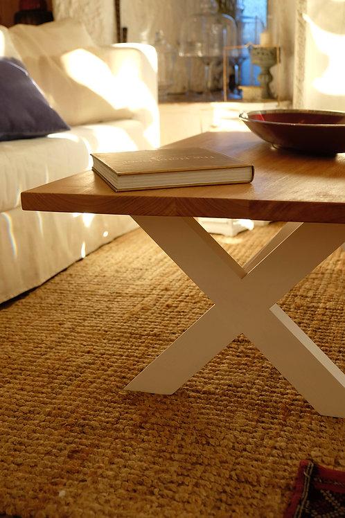 Mesa de living cruz