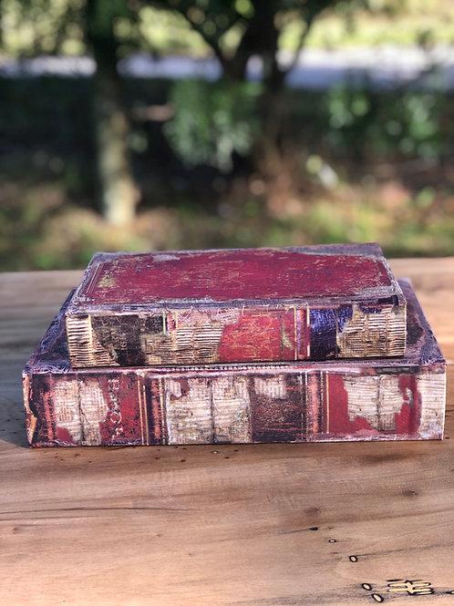 Caja/libro