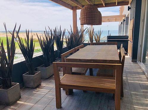 Mesa recta Lapacho