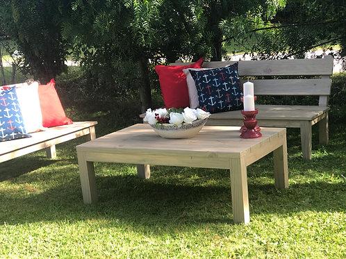 Mesa de living en Pino Cca