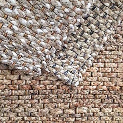 Alfombra de yute y lana