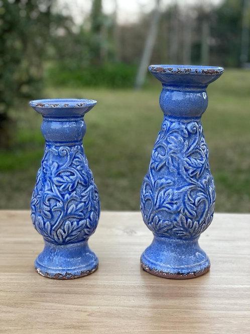 Candelabro Azul