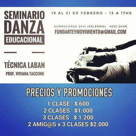 SEMINARIO DE DANZA EDUCACIONAL