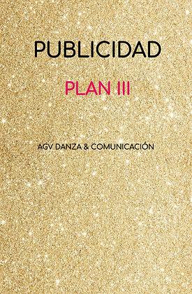 PUBLICIDAD - PLAN III