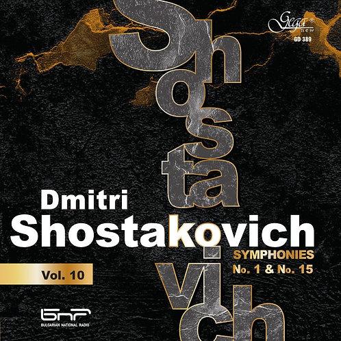 DMITRI SHOSTAKOVICH · SYMPHONIES, VOL.10