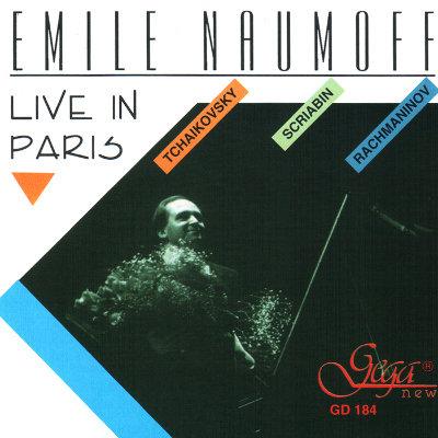 EMILE NAOUMOFF IN CONCERT