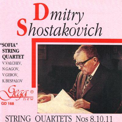 SHOSTAKOVICH · STRING QUARTETES No. 8,10,11