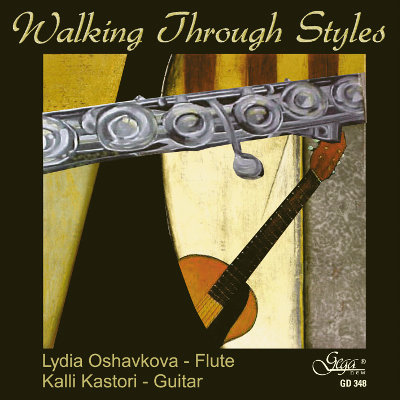 WALKING THROUGH STYLES · FLUTE AND GUITAR