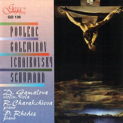 POULENC · GOLEMINOV · TCHAIKOVSKY · R. SCHUMANN