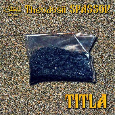 THEODOSII SPASSOV · TITLA