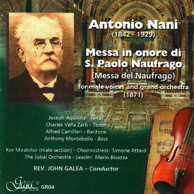 ANTONIO NANI · MESSA IN ONORE