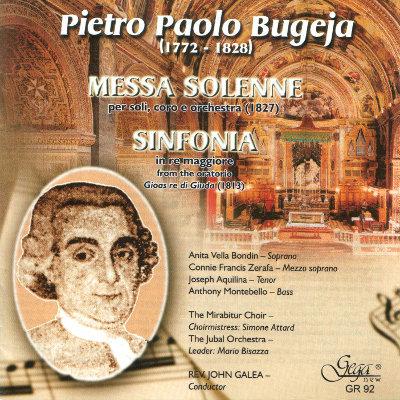 PIETRO PAOLO BUGEJA · MESSA SOLENNE