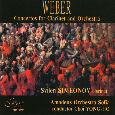 WEBER · CONCERTOS FOR CLARINET AND ORCHESTRA