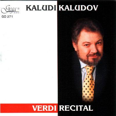 VERDI RECITAL · KALUDI KALUDOV, tenor
