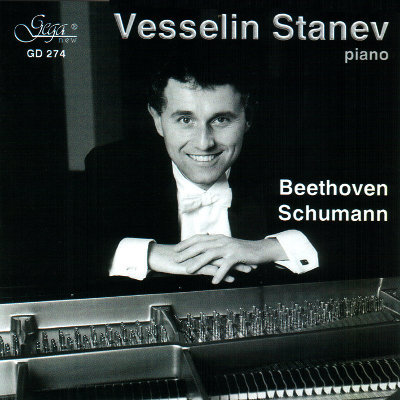 BEETHOVEN AND SCHUMANN · VESSELIN STANEV, piano