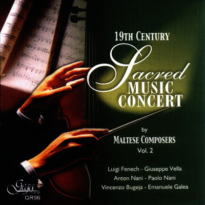 SACRED MUSIC OF THE LATER 20th CENTURY BY MALTESE COMPOSERS, VOL. 2