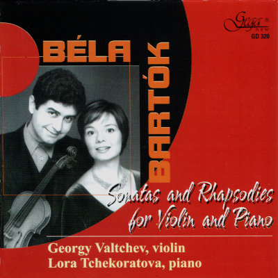 BÉLA BARTÓK · SONATAS AND RHAPSODIES FOR VIOLIN AND PIANO