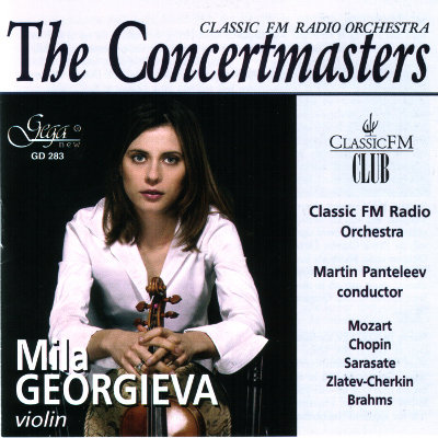 THE CONCERTMASTERS · MILA GEORGIEVA, violin