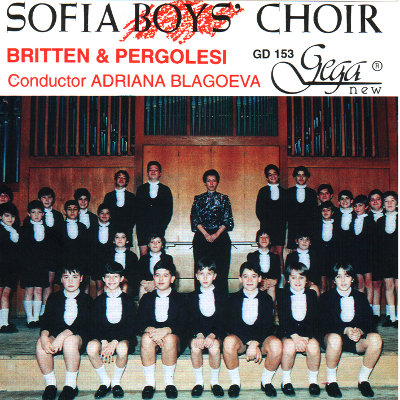 BRITTEN AND PERGOLESI · SOFIA BOYS' CHOIR