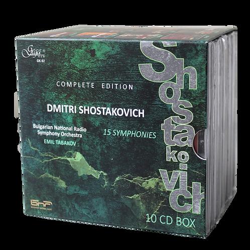 DMITRI SHOSTAKOVICH · SYMPHONIES [10CD]