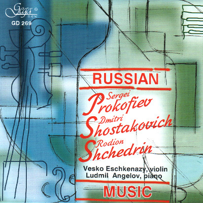 RUSSIAN MUSIC · VIOLIN AND PIANO
