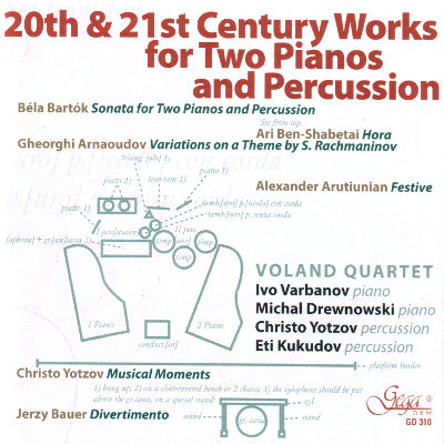 VOLAND QUARTET · WORKS FOR TWO PIANOS AND PERCUSSION