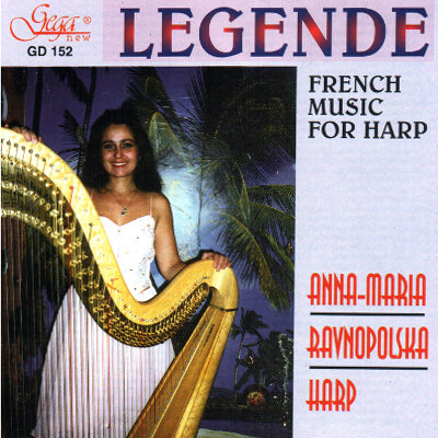 LEGENDE FRENCH MUSIC FOR HARP